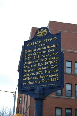William Strong Marker image. Click for full size.