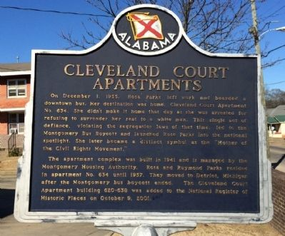 Cleveland Court Apartments Marker image. Click for full size.