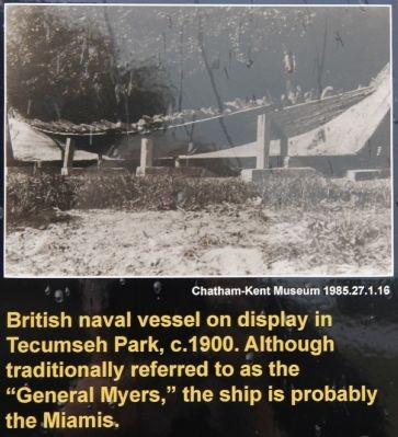 Burning of British Ships / American Encampment Marker image. Click for full size.