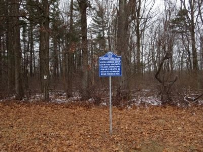 Voorhees State Park Marker image. Click for full size.