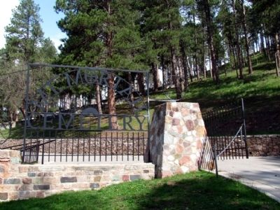 Entrance to Mt. Moriah Cemetery image. Click for full size.