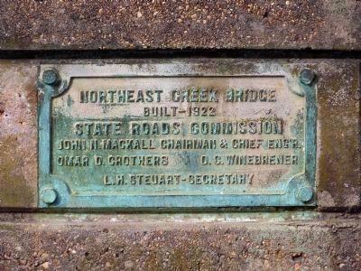 Northeast Creek Bridge image. Click for full size.