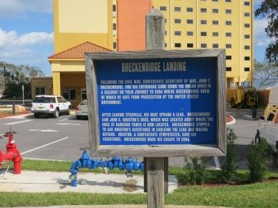 Breckenridge Landing Marker image. Click for full size.