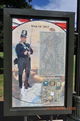 War 1812 Marker image. Click for full size.