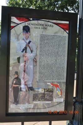 Seminole Wars Marker image. Click for full size.