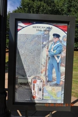 Mexican War Marker image. Click for full size.