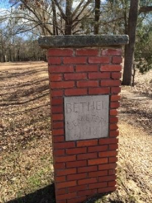 The Bethel Cemetery 1818 image. Click for full size.