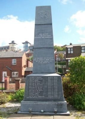 Bloody Sunday Monument image. Click for full size.