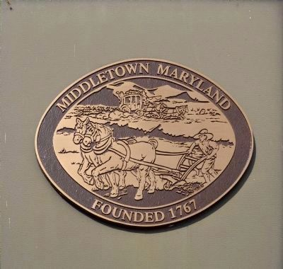 Middletown Maryland<br>Founded 1767 image. Click for full size.