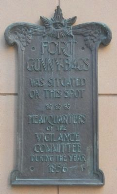 Fort Gunnybags Marker image. Click for full size.
