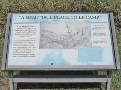 A Beautiful Place to Encamp Marker image. Click for full size.