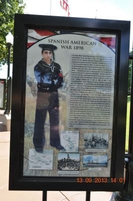 Spanish American War 1898 Marker image. Click for full size.