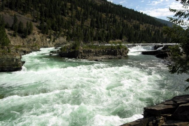 Kootenai Falls image. Click for full size.
