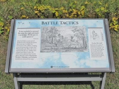 Battle Tactics Marker image. Click for full size.