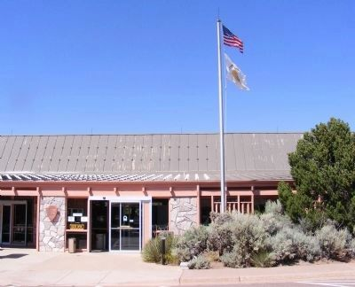 Navajo National Monument Visitor Center image. Click for full size.