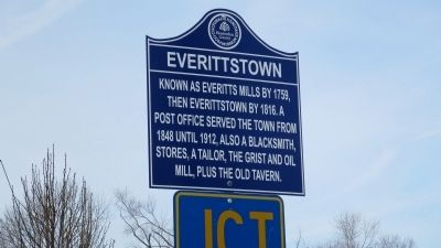 Everittstown Marker image. Click for full size.