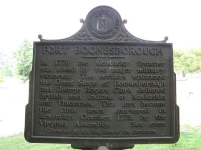 Fort Boonesborough Marker image. Click for full size.