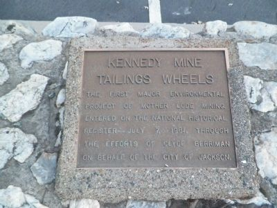 Kennedy Mine Tailings Wheels Marker image. Click for full size.