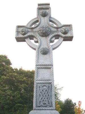 The Peace and Reconciliation High Cross at Cathedral Square image. Click for full size.