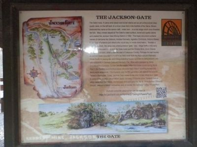 Kiosk - The (Jackson) Gate image. Click for full size.