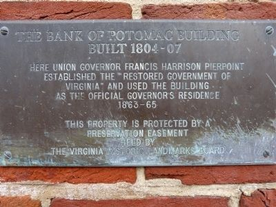 The Bank of Potomac Building Marker image. Click for full size.