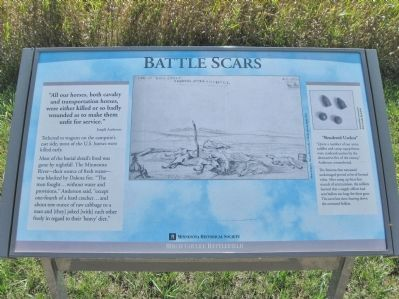 Battle Scars Marker image. Click for full size.