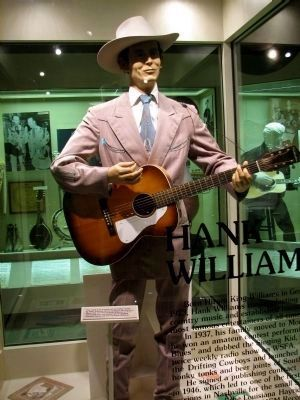 Hank and Audrey Williams Music Hall of Fame Tuscumbia Al image. Click for full size.