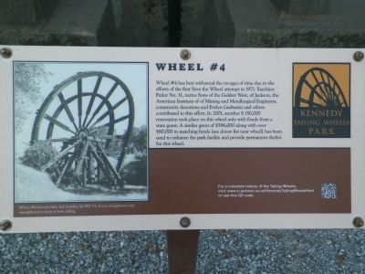 Tailings Wheel #4 Information Sign image. Click for full size.