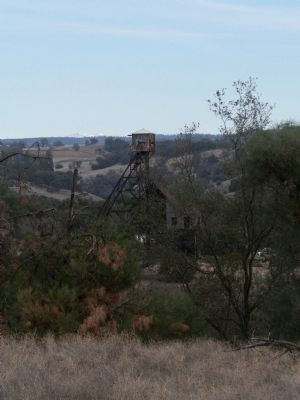 The Kennedy Mine From a Pullout on Hwy 88/49 image. Click for full size.
