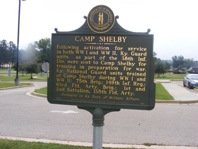 Camp Shelby Marker image. Click for full size.