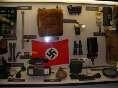 Exhibit inside the Armed Forces Museum image. Click for full size.