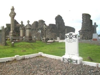 The Franciscan Friary of Donegal Ruins and Graveyard image. Click for full size.