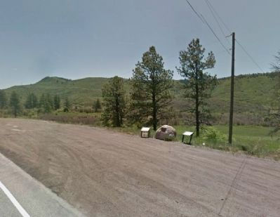 View to Southeast from US 160 image. Click for full size.