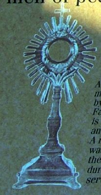 18th Century Monstrance image. Click for full size.