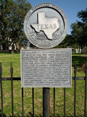 Bradshaw-Killough House Marker image. Click for full size.