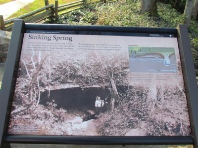 Sinking Spring Marker image. Click for full size.