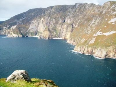 Cliffs of Slieve League / Sliabh Liag / Shliabh Liag image. Click for full size.