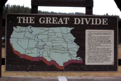 The Great Divide Marker image. Click for full size.