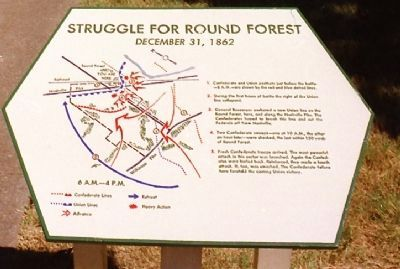 Struggle for Round Forest Marker image. Click for full size.