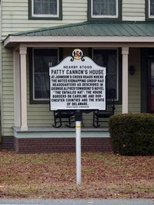 Nearby Stood<br>Patty Cannon&#39;s House Marker image. Click for full size.