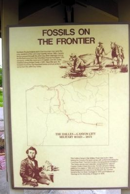 Fossils on the Frontier Marker image. Click for full size.