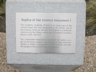 Replica of San Lorenzo Monument 1 Marker image. Click for full size.
