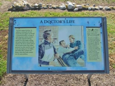 A Doctor's Life Marker image. Click for full size.