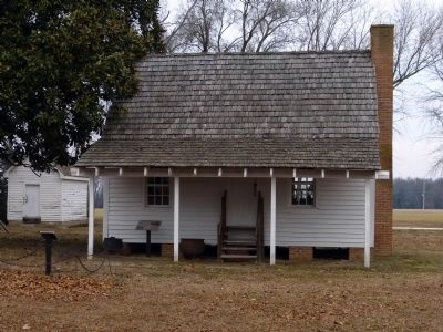 Slave Quarter<br>at the Ross Mansion image. Click for full size.