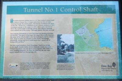 Tunnel No. 1 Control Shaft Marker image. Click for full size.