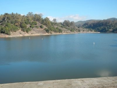Lake Chabot image. Click for full size.