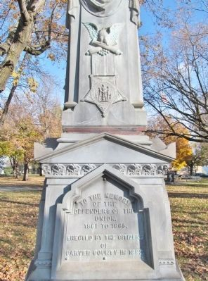 Civil War Monument image, Touch for more information