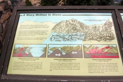 A Story Written in Stone Marker image. Click for full size.