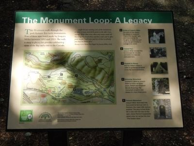 The Monument Loop: A Legacy Marker image. Click for full size.