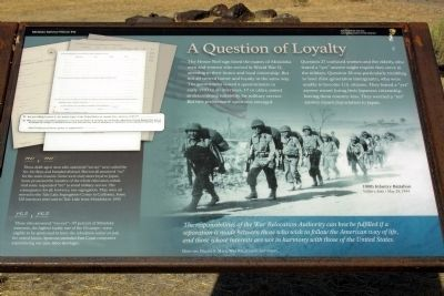 A Question of Loyalty Marker image. Click for full size.
